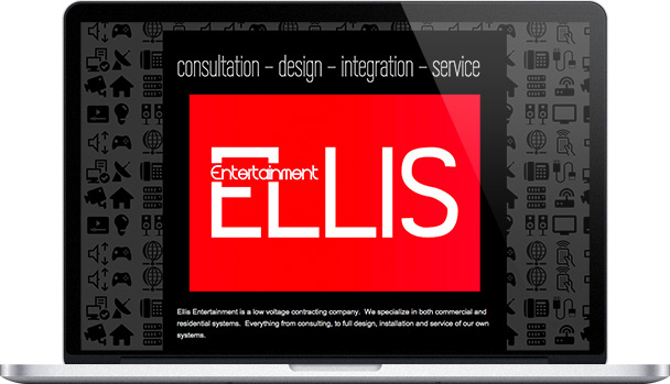 Simple Website Ellis Entertainment
