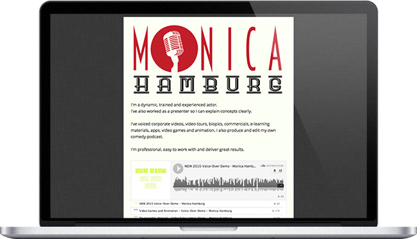 Simple Website Monica Hamburg