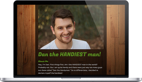 Simple Website Dan The Handiest Man