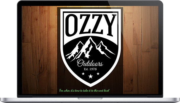 Simple Website Ozzy Outdoors