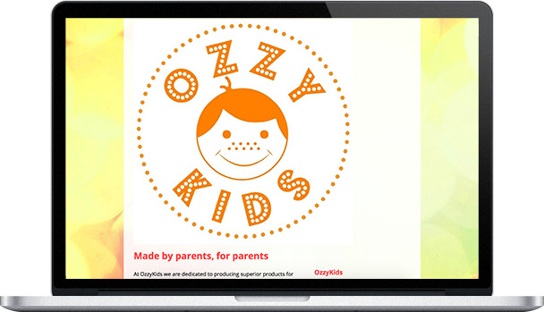 Simple Website OzzyKids