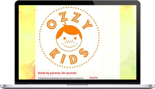 Simple Website OzzyKids