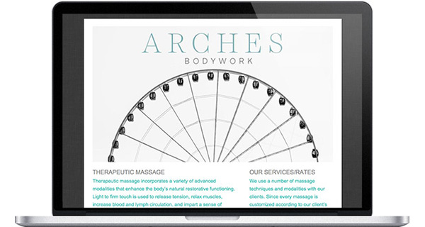 Simple Website Arches Bodywork