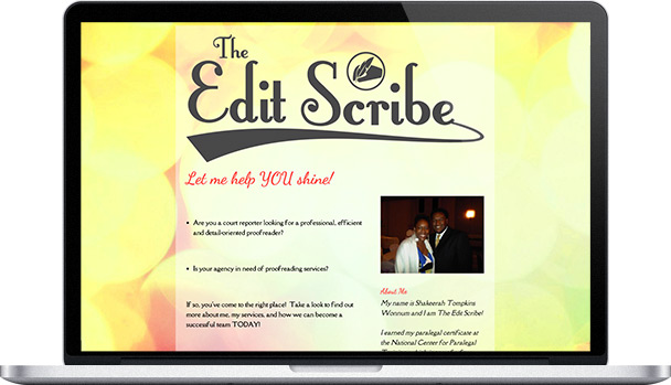 Simple Website Edit Scribe