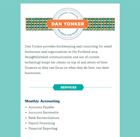 Dan Yonker Bookkeeping